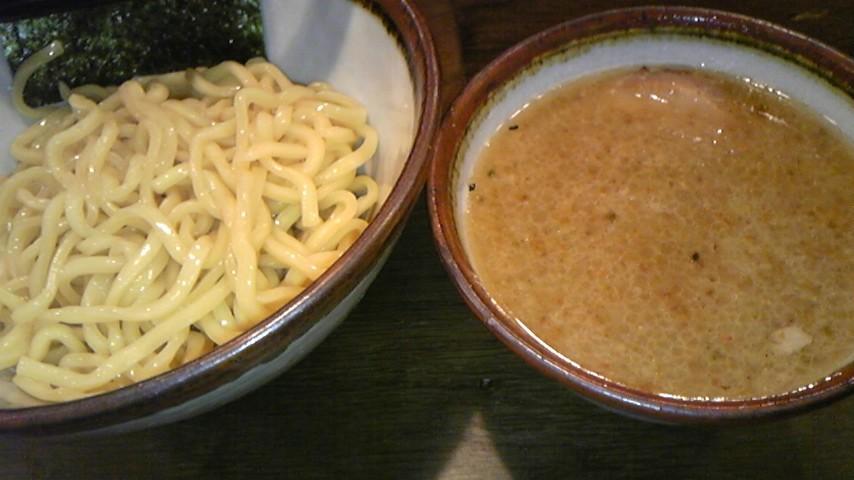 みそや林檎堂@東中野 つけ麺味玉入り