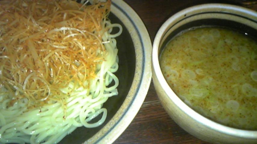 ぶらり@日暮里 魚つけ麺+辛ねぎ
